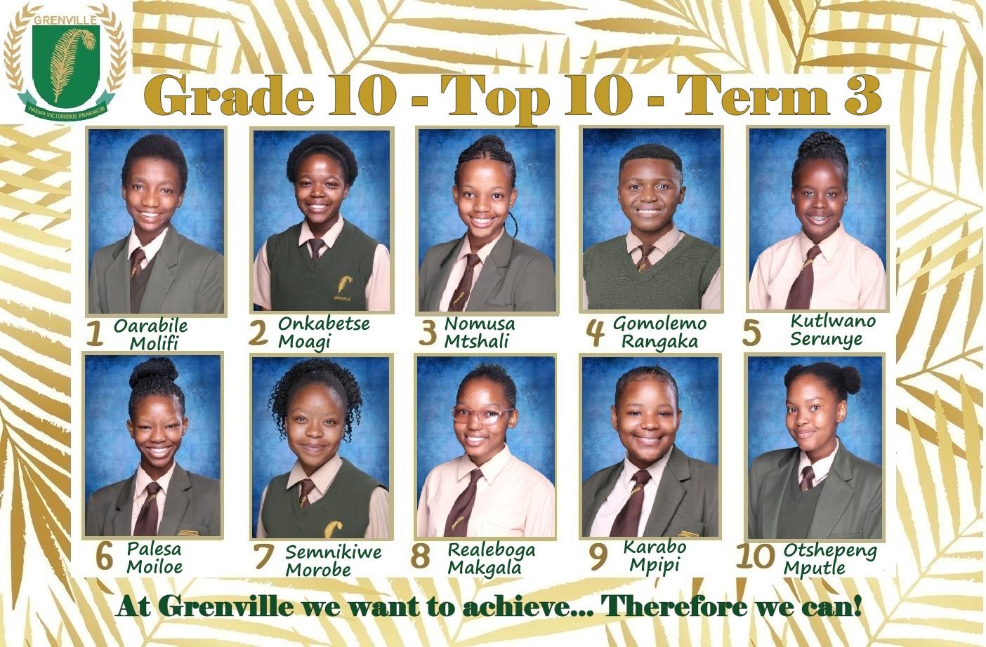 Grade 10-002